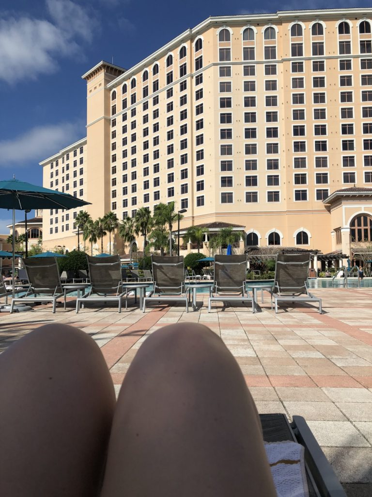 pool at Rosen Shingle Creek hotel