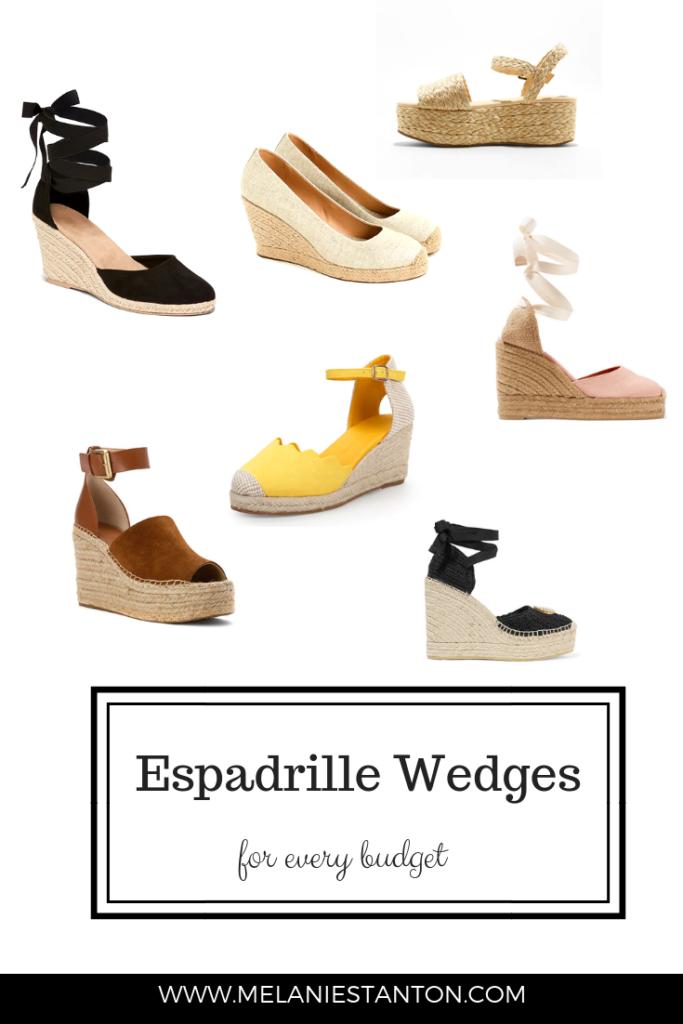 9d6458942a9 Espadrille Wedges - Current Trend - Melanie Stanton